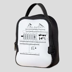ATL Airport Neoprene Lunch Bag