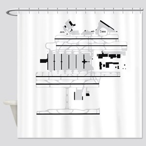 ATL Airport Shower Curtain