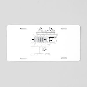 ATL Airport Aluminum License Plate