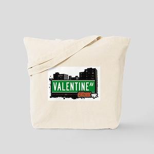 Valentine Av, Bronx, NYC  Tote Bag