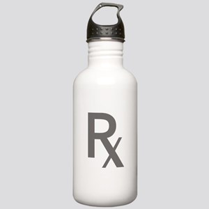 Grey Rx Stainless Water Bottle 1.0L