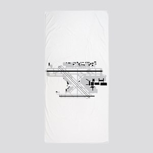 FLL Airport Beach Towel