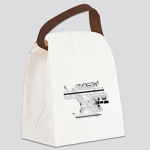 FLL Airport Canvas Lunch Bag