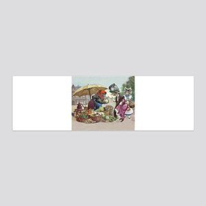Cats Go to Market by Arthur Thiele Wall Decal