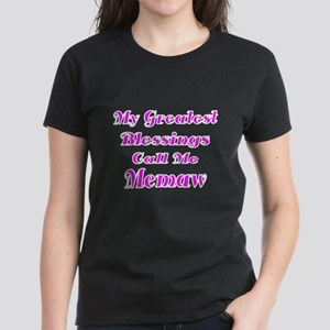 My Greatest Blessings Call Me Memaw T-Shirt