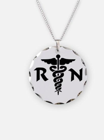 Cute Medical caduceus Necklace