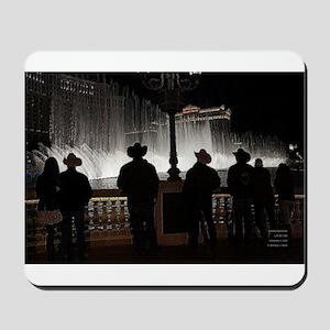 12x12 cowboy christmas 2013 Mousepad