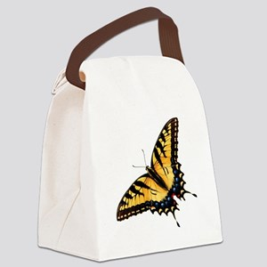 Tiger Swallowtail Butterfly Canvas Lunch Bag