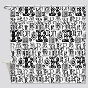 Regal Rs-Shower Curtain Black