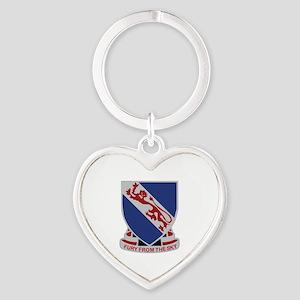 DUI - 4th Brigade Combat Team Heart Keychain