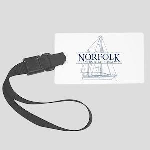 Norfolk VA - Large Luggage Tag