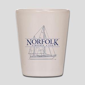 Norfolk VA - Shot Glass