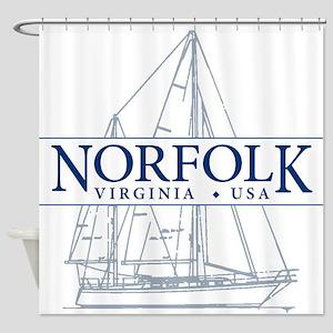 Norfolk VA - Shower Curtain