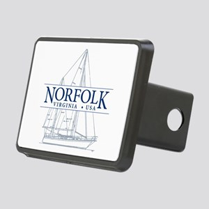 Norfolk VA - Rectangular Hitch Cover