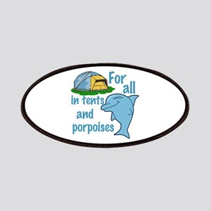 Tents and Porpoises Patches