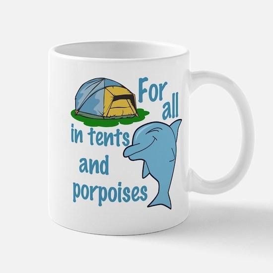 Tents and Porpoises Mug