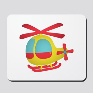 Cute and Colourful Helicopter for Kids Mousepad