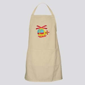 Cute and Colourful Helicopter for Kids Apron