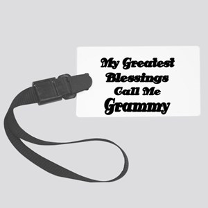 My Greatest Blessings call me Grammy 2 Luggage Tag