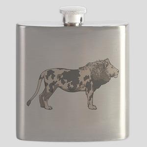 BIG CATtle Flask