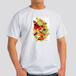 """""""Butterflies & Beetles"""" Women's Pink T-Shirt"""