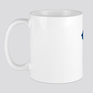 UP YOURS BLUE IMPACT Mug