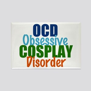 Funny Cosplay Rectangle Magnet