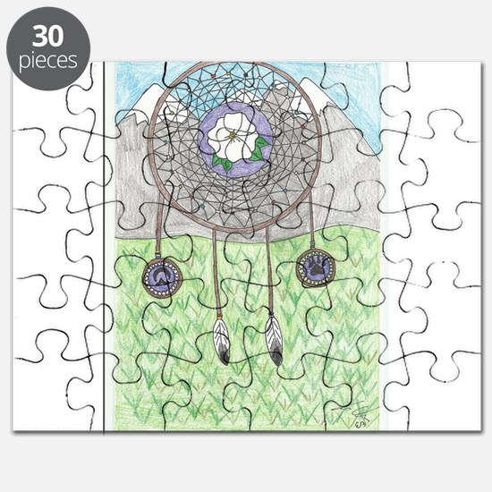 Cherokee Rose Dream Catcher Puzzle
