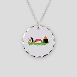 Maki Nigiri Ikura Sushi Necklace