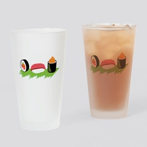 Maki Nigiri Ikura Sushi Drinking Glass