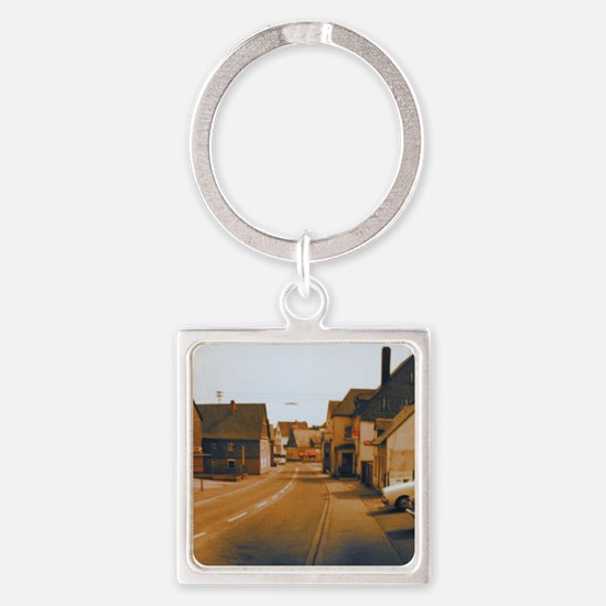 Dolly Bar Square Keychain