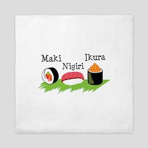 Make Nigiri Ikura Queen Duvet