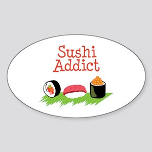 Sushi Addict Sticker