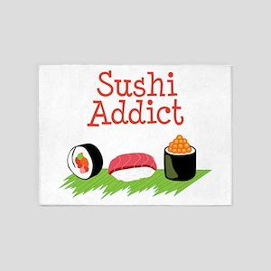 Sushi Addict 5'x7'Area Rug