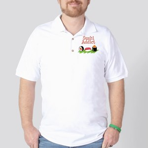 Sushi Addict Golf Shirt