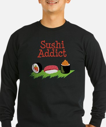 Sushi Addict Long Sleeve T-Shirt