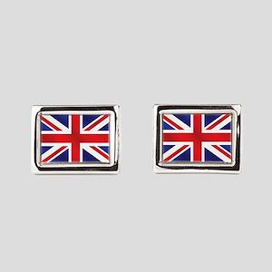 Union Jack UK Flag Cufflinks