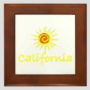 California Sun II Framed Tile