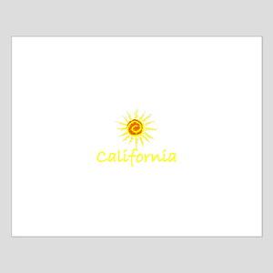 California Sun II Small Poster