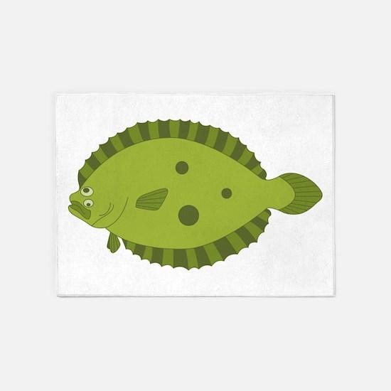Flounder 5'x7'Area Rug