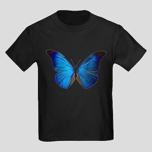 MORPHO RHETENOR D Kids Dark T-Shirt