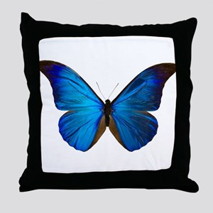 MORPHO RHETENOR D Throw Pillow