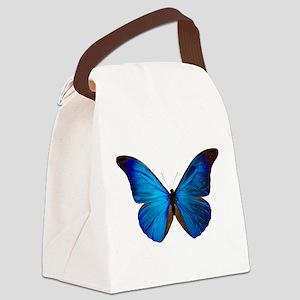 MORPHO RHETENOR D Canvas Lunch Bag