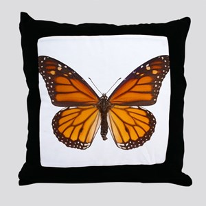 DANAUS PLEXIPPUS V Throw Pillow