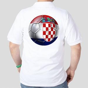 Croatia Football Golf Shirt