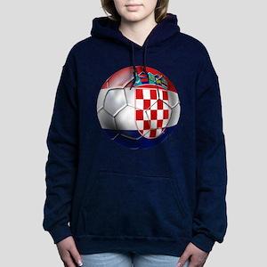 Croatia Football Women's Hooded Sweatshirt