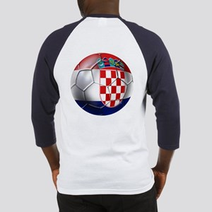 Croatia Football Baseball Jersey