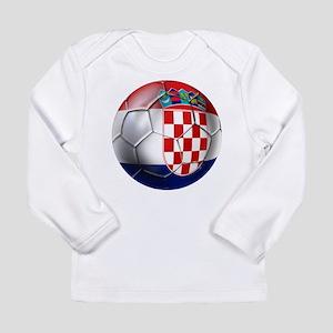 Croatia Football Long Sleeve Infant T-Shirt
