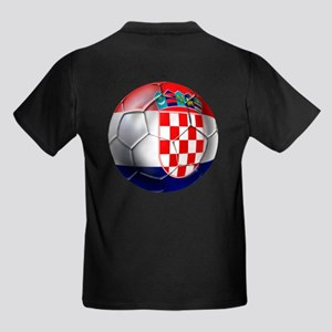 Croatia Football Kids Dark T-Shirt
