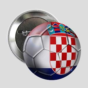 "Croatian Football 2.25"" Button"